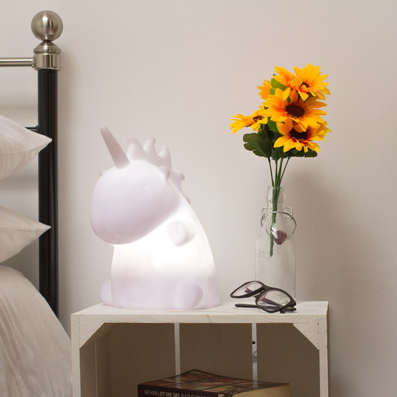 Unicorn Lamps for a Teenager's Bedroom