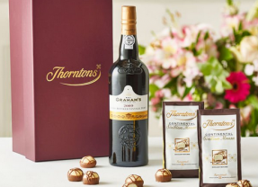 Port Hamper from Thorntons : Fathers Day Gift Ideas