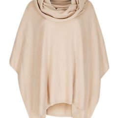 Pure Cashmere Cowl Neck Poncho #MothersDay