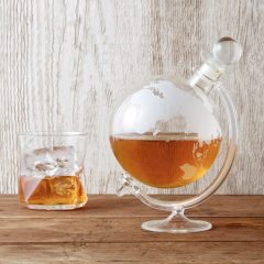 Glass Globe Whisky Decanter from IWOOT |Father's Day Gift Ideas