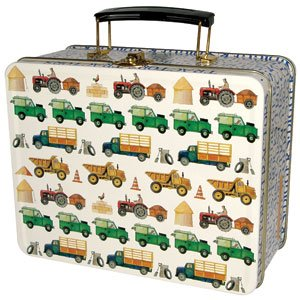 Bestest Christmas Gift Ideas No.6 – Emma Bridgewaters 'Men at work' lunch box tin