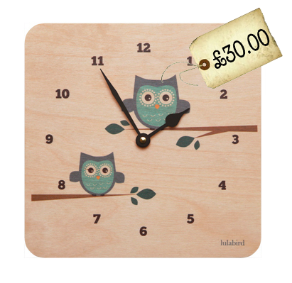 Spotted! Owls! On a Clock!