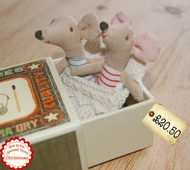 Bestest Christmas Gift Ideas Maileg Mice Twins