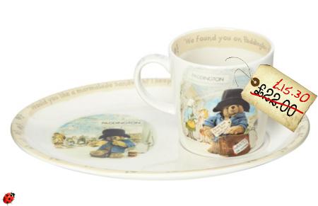 Spotted Gorgeous Paddington Plate And Mug By Spode
