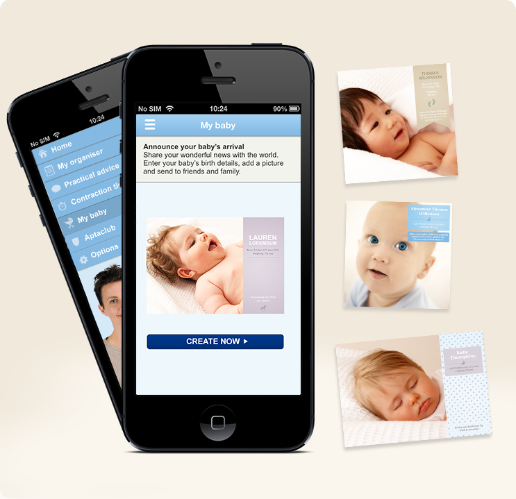 Are you pregnant? You might want to take a look at the new *free* Aptaclub app…