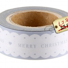 Gorgeous Paper Merry Christmas tape – Pre-Christmas Shopping list