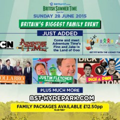 WIN tickets to the Family Event at BST Hyde Park!
