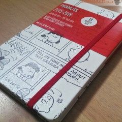 Hands up who wants to win a Peanuts Charlie Brown Moleskine planner?
