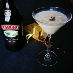 The Flat White Martini – the ultimate cocktail for a log fire