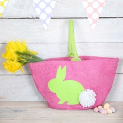 Hippity Hop Easter Bunny Pink Or Blue Bag from Red Berry Apple #EasterGiftGuide