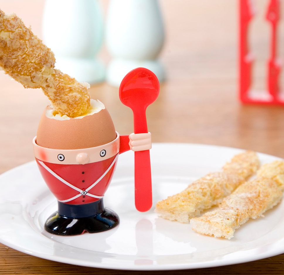 Soldier Egg Cup Amp Toast Cutter By Getting Personal