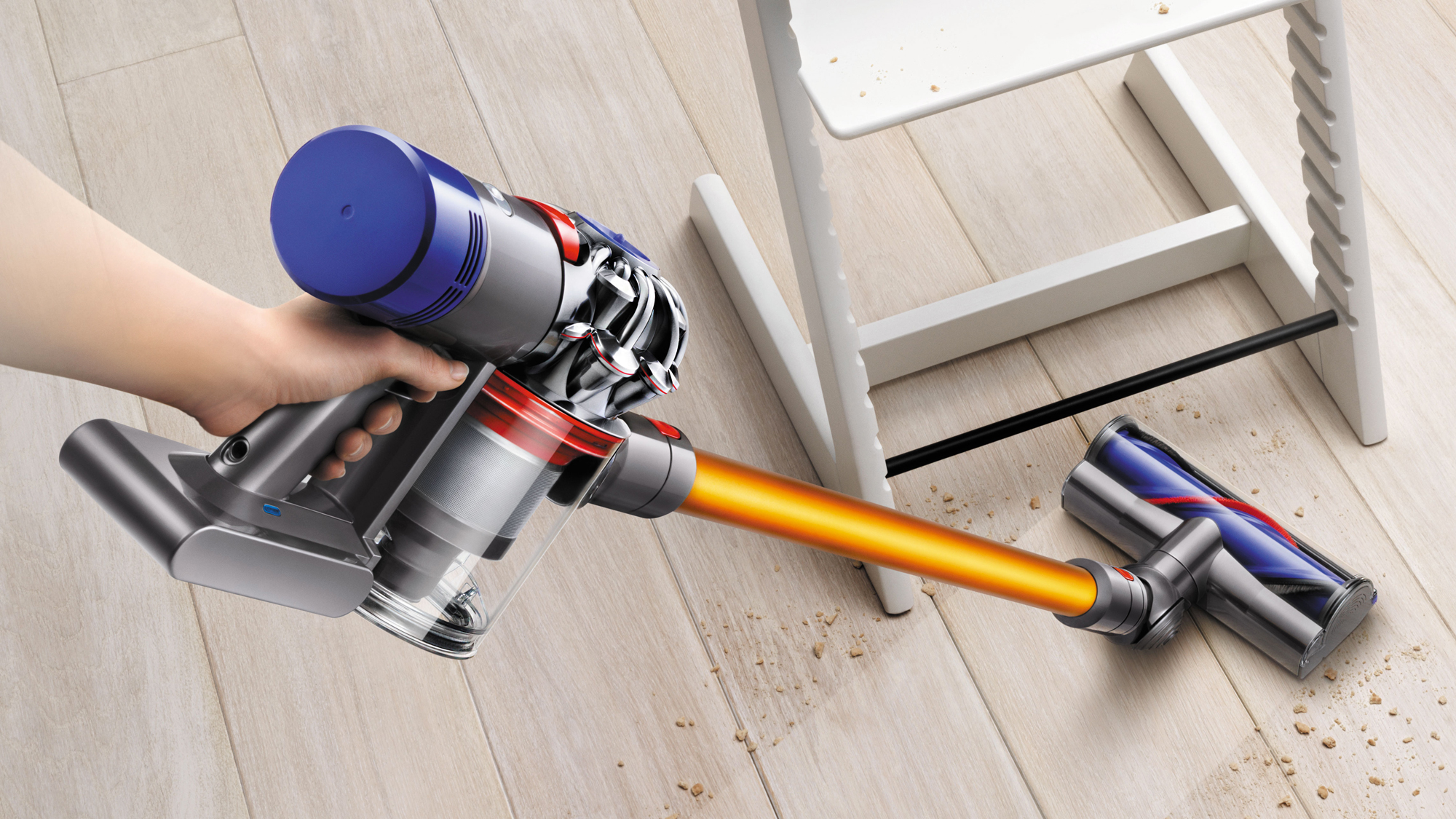 dyson v8 absolute cordless vacuum cleaner review littlestuff. Black Bedroom Furniture Sets. Home Design Ideas
