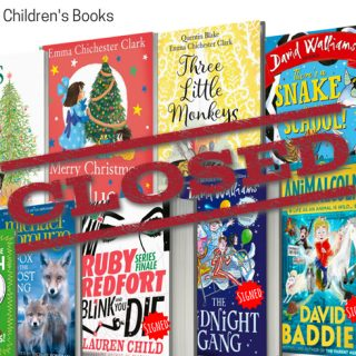 Win £100 bundle of children's books (& signed copies!)