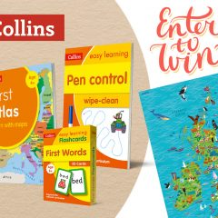 Win Back To School Books for your Pre-Schooler with Collins