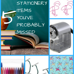 Back To School Teens? Don't miss these five often-overlooked stationery essentials.