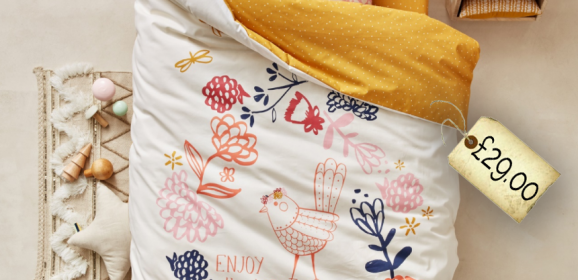 Spotted! Just look at this fabulous 'Enjoy The Little Things' Bedding