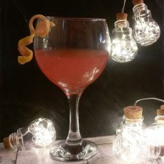 Silver Wedding Party Cocktails – Sloe Gin Fizz Pitcher Recipe