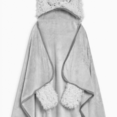 Grey Monster Hooded Blanket #ChristmasGiftGuide