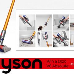Win the £520 Dyson V8 Absolute cord-free vacuum cleaner | #LittleStuff24