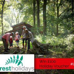 Win a £100 Voucher For a Luxury Forest Holidays Escape | #LittleStuff24