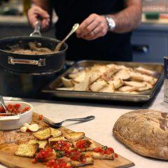 A Perfect Italian Menu (by some lovely Italians!) – Simple, Easy, Bruschetta Recipe.