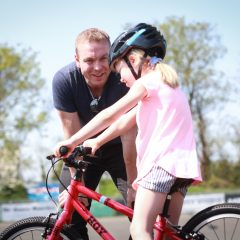 Top tips for teaching your kids to cycle