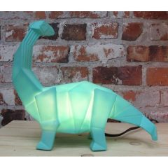 Spotted! Origami Green Dinosaur Lamp!