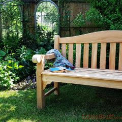 Need a garden bench? We're in love with this one.