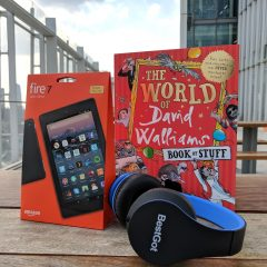 Win a Walliams Summer Bundle – Book, Tablet & Headphones! #SummerStuff