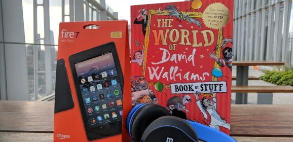 Win a Walliams Summer Bundle – Book, Tablet & Headphones! #SummerStuff