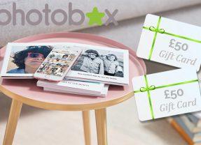 Win 2 x £50 Photobox Vouchers, plus 10 Little Moments Photo Books | #Summerstuff