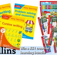Win a Collins Early Learning pack and Stabilo Activity Set | #SummerStuff