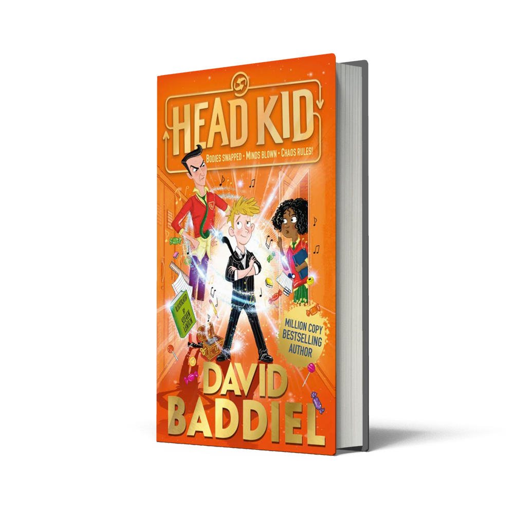 Head Kid childrens book by David baddiel