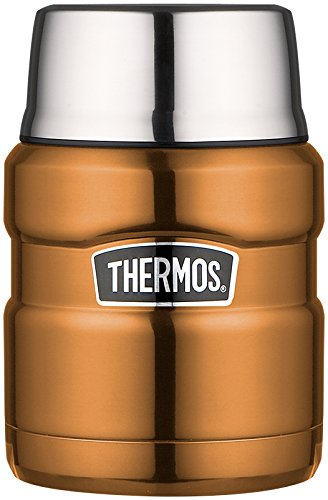Copper Thermos Food Flask