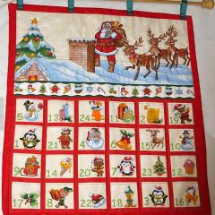 Father Christmas Advent Calendar – Etsy