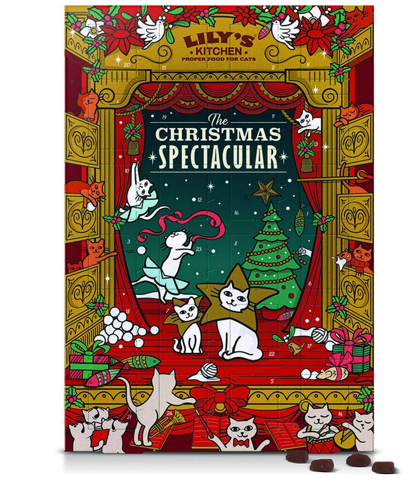 Lily's Kitchen Christmas Advent Calendar 2018 Cat Treat