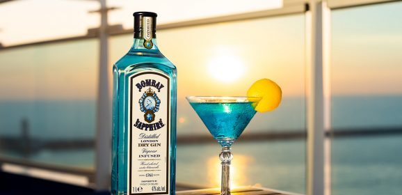 Sapphire Princess Cocktail Recipe (It's GIN!)