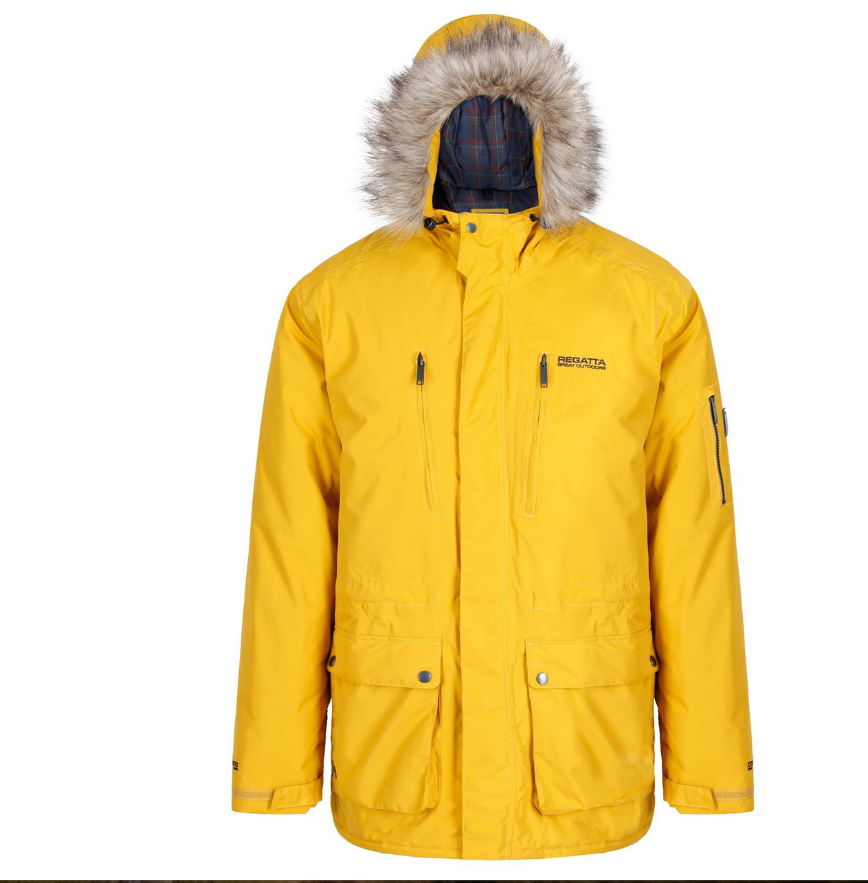 Regatta Salinger Waterproof Insulated Jacket Mustard Seed - Pre-Christmas Shopping