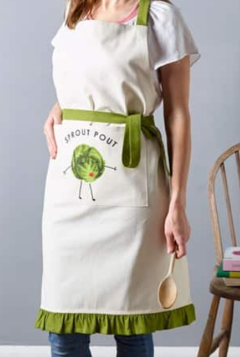 Sprout Pout Apron | Pre-Christmas Shopping