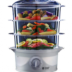 Russell Hobbs 21140 3-Tier Food Steamer | Pre-Christmas Shopping
