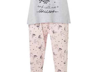 Pink Unicorn Glitter Pyjamas   #ChristmasGiftGuide