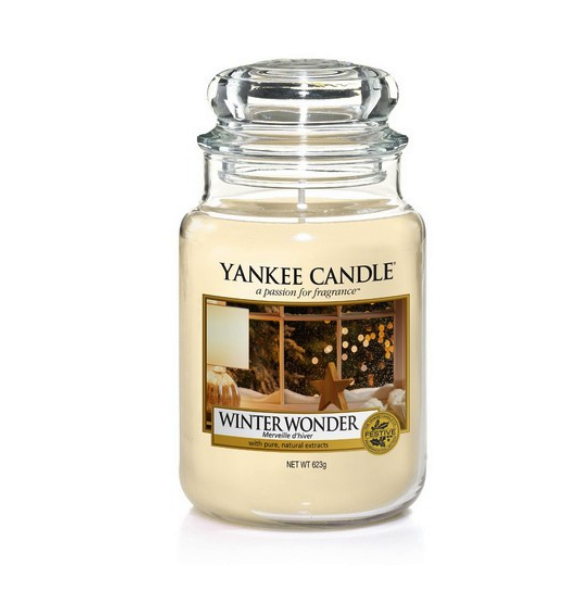 Winter Wonder Yankee Candle| #ChristmasGiftGuide