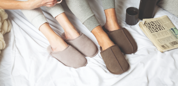 It's SLIPPER SEASON – and we have a Just Sheepskin Code for 10% off. Oh YES!