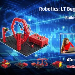 Win A FischerTechnik Robotics Kit Plus A Year's ConquerMaths & ConquerComputing – together worth over £400!  #LittleStuff24