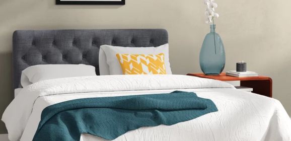 LOVE this Platform Bed on Wayfair!