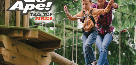 Win a Family Pass for Go Ape's Tree Top Junior Adventure! | #LittleStuff24