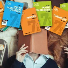 Win a complete Letts 'GCSE In A Week' Bundle PLUS a £60 Spotify Gift Card!