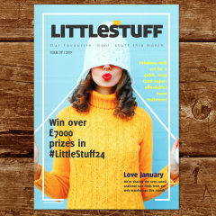 We're ALL About the January Sales (also – £7k prizes in LittleStuff24 *squeak*) | LittleStuff Magazine No. 9