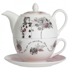 Limited Edition Queen of Hearts Tea-for-One #MothersDay