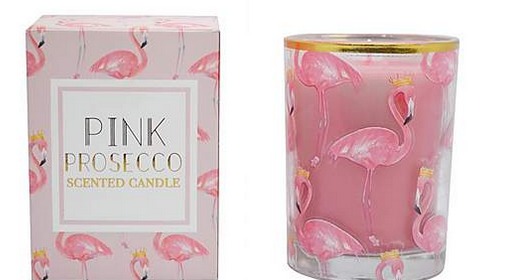 Pink Prosecco Flamingo Candle #MothersDay